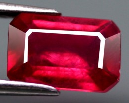 Natural earth mined Ruby, glass clarity enhanced.  Gemstar items are guaranteed.