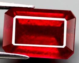 5.70 Carat Fiery Pigeon Blood Ruby VS2