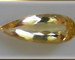 For Jas -A magnificent Golden Yellow Beryl 7.03cts VVS Jewel