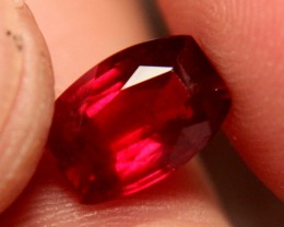 4.80 Carat VS Pigeon Blood Ruby - Superb Gem