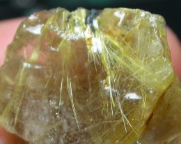 71 CTS 'STAR BURST' RUTILATED QUARTZ ROUGH [MGW2236 ]