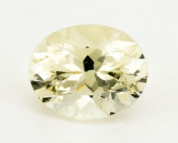 2.8ct Oregon Sunstone, Clear Oval (S130)