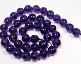 AAA10 mm ROUND   16 INCH OR 40 CM   AMETHYST STRAND  RT 2666