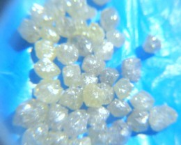 NATURAL WHITE DIAMONDROUGH- SIZE -APP 1CTW-50CTWLOT