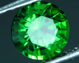 0.66 CTS CERTIFIED CHROME TOURMALINE - STUNNING COLOUR (TMG7