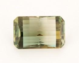 11.3ct Oregon Sunstone, Green/Gold Emerald Cut  (S182)