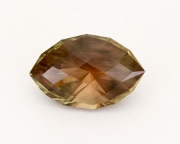 SALE WAS $6869 ~ 13.4ct Oregon Sunstone, Rootbeer Marquise (S19)