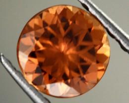 0.90 CTS CERTIFIED CHOCOLATE ZIRCON - DIAMOND CUT [ZCO4]