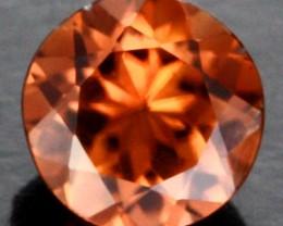 0.75 CTS CERTIFIED CHOCOLATE ZIRCON - DIAMOND CUT [ZCO7]