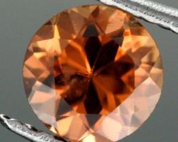 0.63 CTS CERTIFIED CHOCOLATE ZIRCON - DIAMOND CUT [ZCO39]