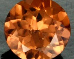 0.62 CTS CERTIFIED CHOCOLATE ZIRCON - DIAMOND CUT [ZCO40]