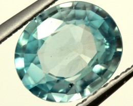 BLUE ZIRCON FACETED STONE 1.35 CTS PG-842