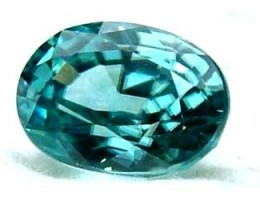 BLUE ZIRCON FACETED STONE 1.20 CTS  PG-1078