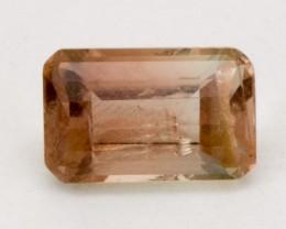 SALE! 1.2ct Oregon Sunstone, Pink Champagne Rectangle (S126)