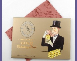 QUALITY GOLD POLISHING CLOTH-MADE IN ENGLAND