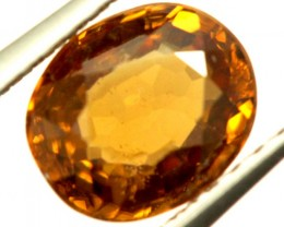 GOLDEN ZIRCON FACETED STONE 1.70 CTS PG-847
