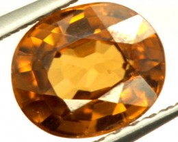 GOLDEN ZIRCON FACETED STONE 1.55 CTS PG-850