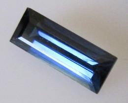 Australian Blue Baguette Sapphire, 1.32cts
