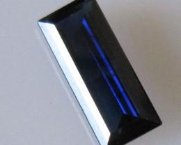 Australian Blue Baguette Sapphire, 2.11cts