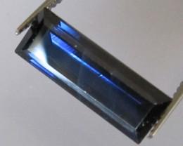Australian Blue Baguette Sapphire, 2.85cts