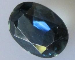 Australian Blue Oval Sapphire, 1.37cts