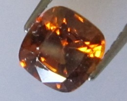 Australian Cushion Shape Orange Zircon, 0.97cts