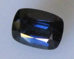 Australian Cushion Shape Blue Sapphire, 1.24cts