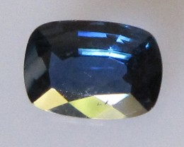 Australian Cushion Shape Blue Sapphire, 0.81cts