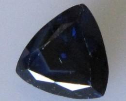 Australian Trillion Shape Blue Sapphire, 1.25cts