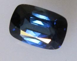 Australian Cushion Shape Blue Sapphire, 0.79cts