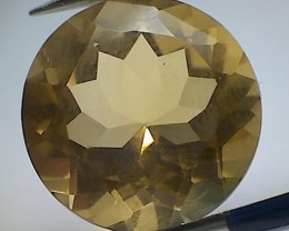 8.95 ct Sparkling Golden Yellow Brazilian Citrine (A500)