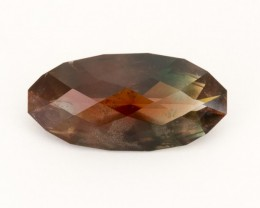 SALE WAS $11,200 ~ 10.9ct Oregon Sunstone, Dichroic Red/Green Oval (S199)