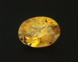 0.60ct MARVELLOUS SONGEA ZIRCON GEM CUSTOM CUT IN GERMANY