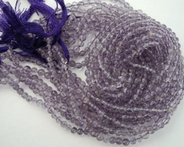 FABULOUS 5.5-6MM 'A' SMOOTH ROUND AMETHYST BEADS FROM BRAZIL