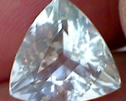 CERTIFIED Triangular cut 4.74ct Morganite VVS A112 - F10
