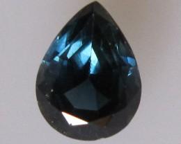 Australian Pear Shape Blue Sapphire, 1.08cts