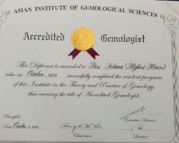 All our stock is checked by our in house{ AIGS} certified Gemologist