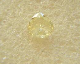 NATURAL-FANCY YELLOW DIAMOND- 0.90CTE SIZE-1PCS