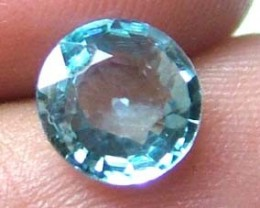 BLUE ZIRCON FACETED STONE 1.55 CTS FP-2380 (PG-GR)