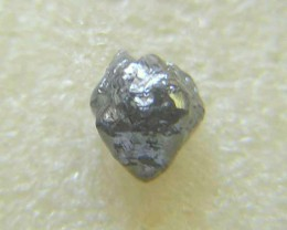 NATURAL  UNTREATED-BLACK DIAMOND ROUGH-2.65CTWSIZE-1PCS