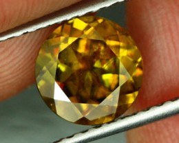 2.09 CTS CERTIFIED SPHENE DARK YELLOW [SPY7]