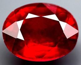 4.89 Carat VS Cherry Ruby - Fiery and Beautiful