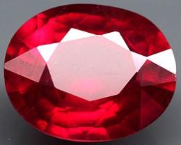 3.73 Carat VS Fiery Cherry Ruby