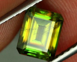 1.74 CTS VS CERTIFIED GREEN SPHENE [SPG8]