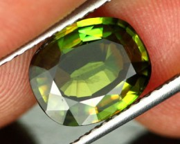 2.80 CTS VS CERTIFIED GREEN SPHENE [SPG9]