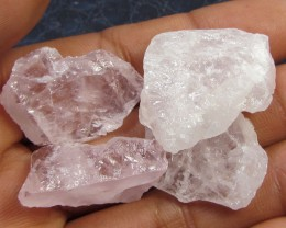 17.2 CTS PINK QUARTZ ROUGH LOVE STONE!  TW 1212