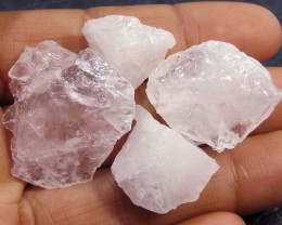 14CTS PINK QUARTZ ROUGH LOVE STONE!  TW 1214