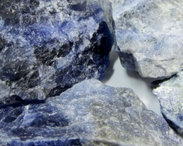 SODALITE ROUGH 4 PIECES TW 1286