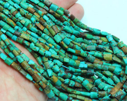 43.50 CTS 1 STRAND TURQUOISE FINE BEADS