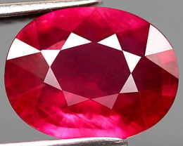 2.27 Carat Pinkish Red VS Ruby - Beautiful